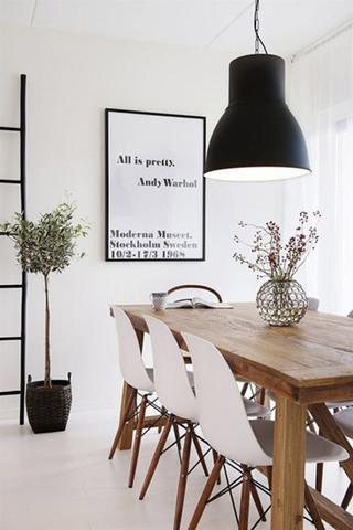 简约风格简洁餐厅设计