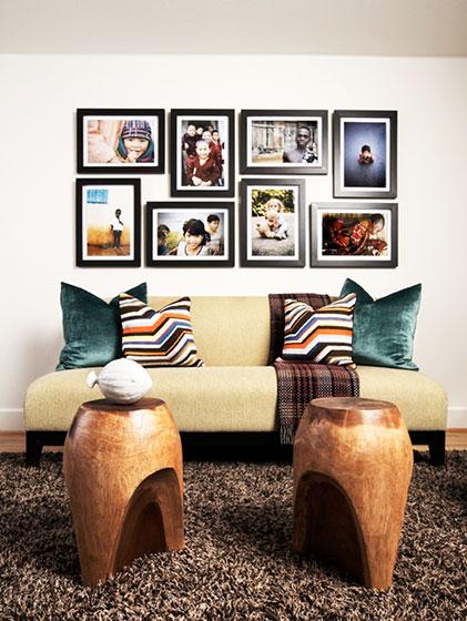 简约风格简洁照片墙装修效果图