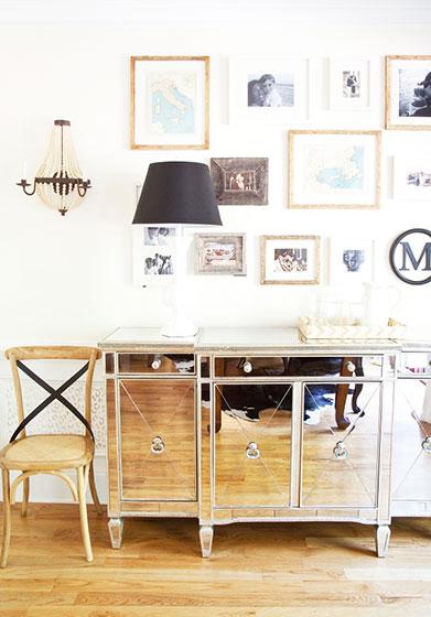 简约风格简洁照片墙设计图