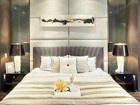 营造卧室风格 18款中式床头软包图片