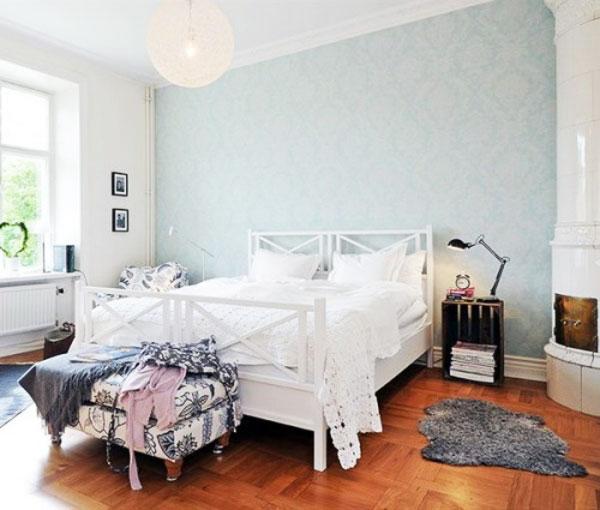 卧室背景墙墙纸卧室壁纸图片