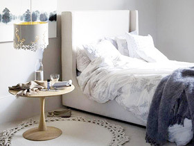 舒适背靠体验 16款简约床头软包设计