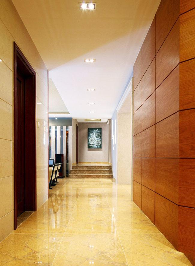 走廊过道效果图图片