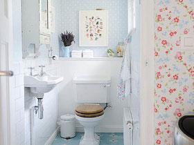 地中海卫生间 16款清新卫浴挂件图片