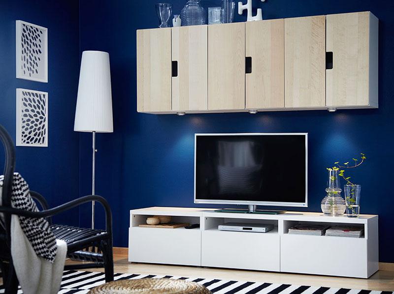 宜家风格组合电视柜图片