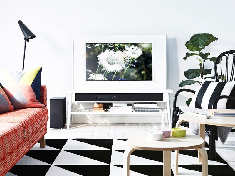 简洁风格宜家电视柜图片
