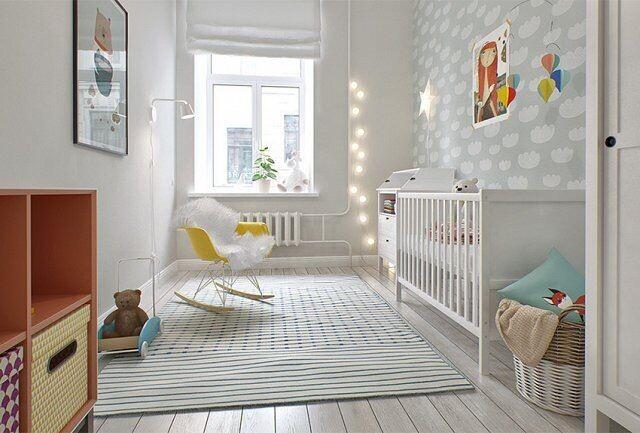 白色清新儿童床图片