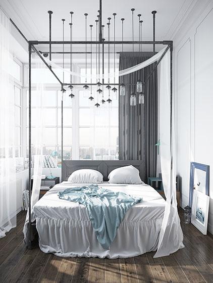 简约卧室装修图片