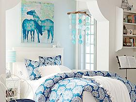 打造温馨卧室 14款卧室装饰画图片