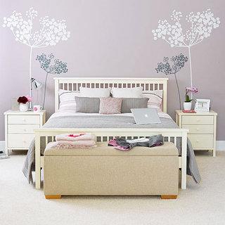 粉色卧室壁纸装修效果图