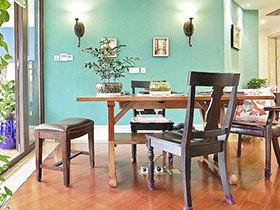 清新田园风 15张餐厅背景墙设计图