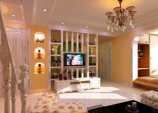 电视墙的妙用 16张客厅隔断设计图2/16