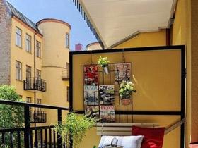 浪漫异域风情阳台设计 营造惬意休闲空间