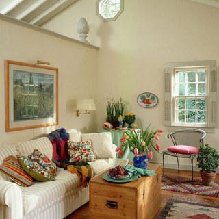 温馨美式客厅效果图