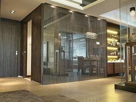 唯美隔断设计 15张客厅软隔断设计图