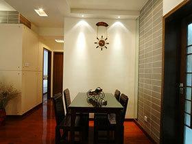 中式极简主义 14张餐厅背景墙设计图