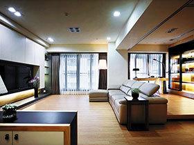 19图小客厅设计 打造实用电视背景墙