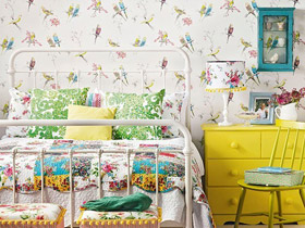 小清新风来袭 12款卧室背景墙设计