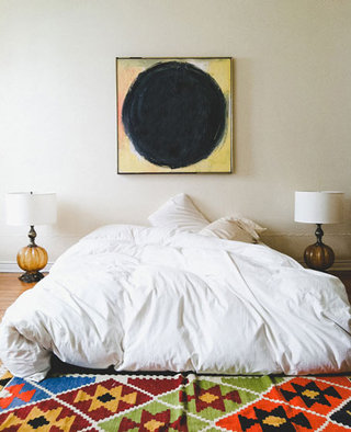 装饰画卧室背景墙效果图