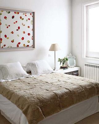 简洁温馨卧室效果图