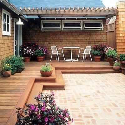小庭院装修效果图