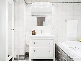 13張白色浴室柜效果圖 清新唯美