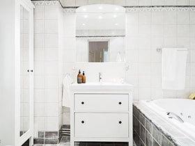 13张白色浴室柜效果图 清新唯美