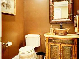 10张特色浴室柜设计图 个性时尚