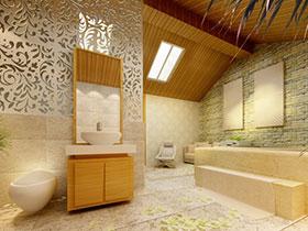 清新原木風 13張黃色浴室柜設計圖