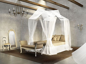 高贵美式风 13张卧室吊顶效果图