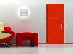 时尚现代范 13款红色木门效果图
