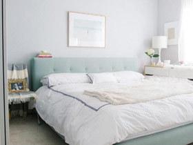 清新卧室设计 14款床头软包效果图