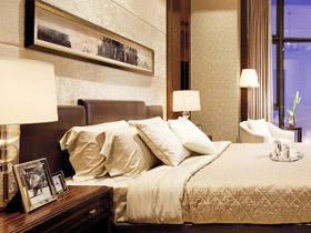 沉稳卧室气息 12款棕色床头软包图片