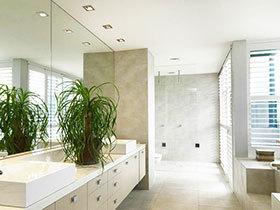 10张狭长浴室柜设计图 帮你打造干净浴室
