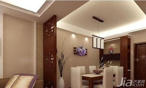 家装餐厅吊顶效果图 餐厅设计