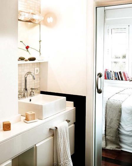 创意时尚卧室卫生间设计效果图