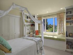 卧室装修  卧室窗帘装修效果图