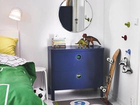 豐富空間層次 11款彩色床頭柜圖片