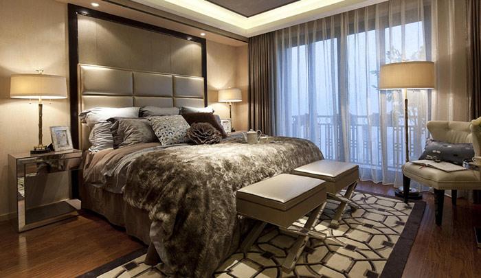 欧式大气华丽卧室效果图图片