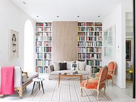 時尚歐式風 13張書柜設計圖欣賞
