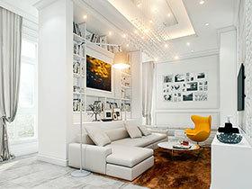 14款吊灯装饰客厅 大秀现代简约风格