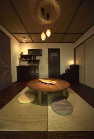 日式榻榻米休闲区设计效果图