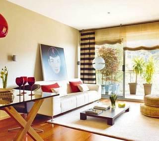精致简约沙发背景墙设计效果图