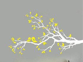 灵活多变设计 14款手绘墙效果图