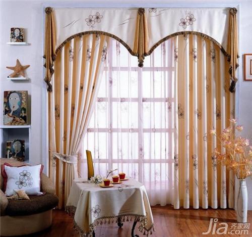 欧式风格窗帘设计 欧式窗帘图片欣赏图片