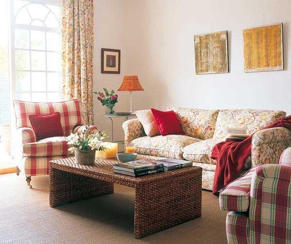 田园温馨舒适客厅设计效果图