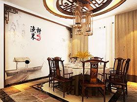 餐厅布置方案 16款大气中式吊灯
