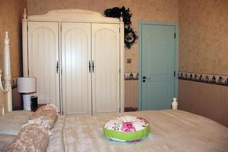 温馨壁纸田园卧室效果图