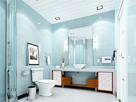 不一样的卫浴间 13张个性浴室柜设计图