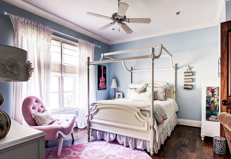 简欧女生卧室装修设计